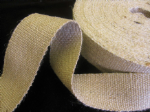 6 reels of STRONG jute upholstery webbing seat seating tape - 33mt - Bulk lot
